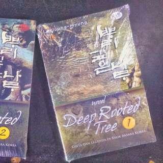 Novel deep rooted tree jilid 1 dan 2 tamat.  Lee Jung - Myung.