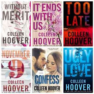 Colleen Hoover Collection