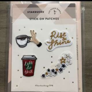 Starbucks x Paper Bunny Stick on Patch
