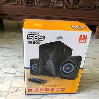 Creative SBS E2800 speakers