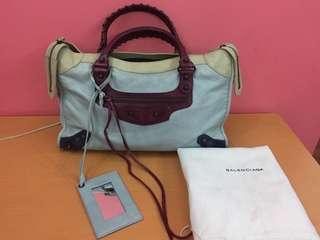 Balenciaga Limited Edition Tri-color bag
