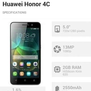 Huawei Honor 4c Complete Package