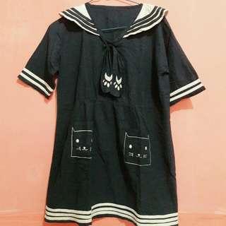 Baju/Mini Dress Sailor