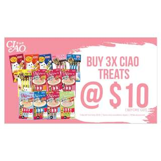 PROMO CIAO CHU RU BUY 3 FOR $10 !!