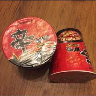 ☆🌶韓國農心特辣杯麵兩個 ☆
