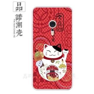 [包郵]Galaxy C7 三星 Samsung 手機殼 CASE 100% NEW  招財貓 幸福吉祥
