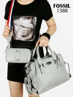 Tas Wanita Fossil Maddox Neo 2in1 Double Strip 1388