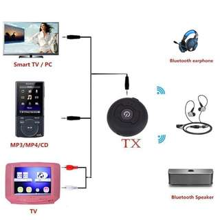 H-366T Wireless Audio Bluetooth Transmitter Music Stereo Dongle Adapter For TV Smart PC DVD MP3 Bluetooth 4.0