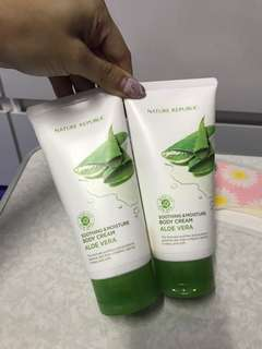 Aloe Vera Soothing body cream