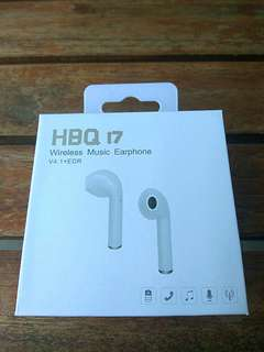 Bluetooth Single Earphones with Call function