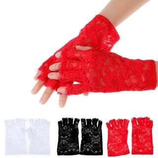 Lace gloves 1 par. Free mailing