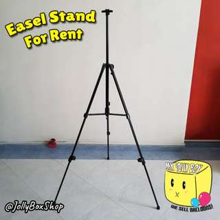 Easel Stand For Rent - Can Fit A2 Sizes Boards | For Real Estate Agents, Insurance Agent | Birthdays, Ads Display