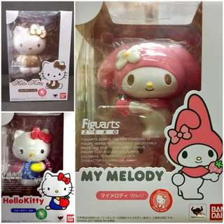 Bandai Figuarts Zero Sanrio Figure hello kitty my melody 行貨