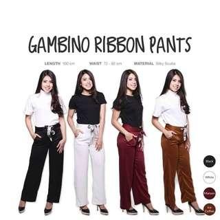 Gambino Ribbon Pants