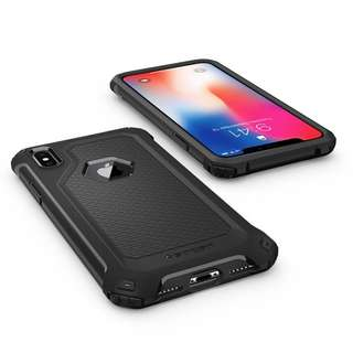 iPhone X Case Rugged Armor Extra Black Color like NEW