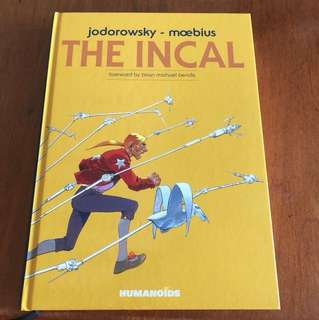 The Incal by Alejandro Jodorowsky (Graphic Novel, Comic Books)