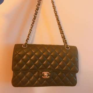 Chanel Classic Flap Bag 25cm Calf Skin