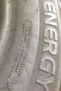 2017 - New Michelin Energy Tyre- 205/60/16