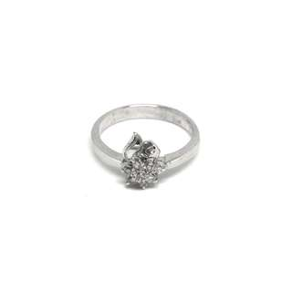 Just Jewels Rositas Lady Ring with Diamonds White Gold