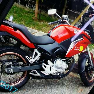 Nice bike with Nice F186R for Sale       10mth Old       Honda cb190x    &     Bike Cc 190   ( Please give Good offer )