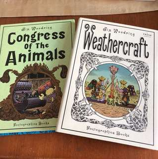Congress of the Animals & Weathercraft by Jim Woodring (Graphic Novels, Comic Books)
