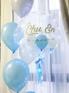 LED Customized Bubble Balloon