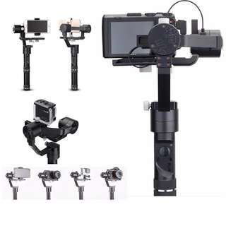 Zhiyun Crane M 3-Axis Gimbal Stabilizer for Sports Cameras Smartphones for Sony black magic DC for Lumix DMC Mirrorless cameras