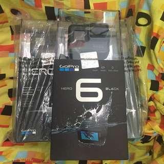 Gopro hero 6 black Brandnew sealed 1yr PH gopro warranty