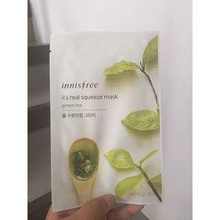 Innisfree Green Tea Mask