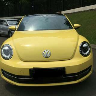 VW Beetle 1.2 L TSI UK tahun 2013 KM 8rb