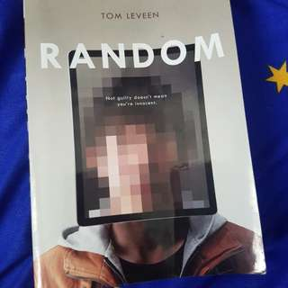 "Novel: ""Random"" by Tom Leveen"
