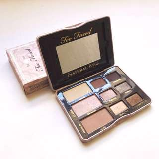 Too Faced Natural Eyes Neutral Eye Shadow Collection from Sephora