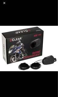 Uclear Bluetooth Helmet Intercom(2 pair)