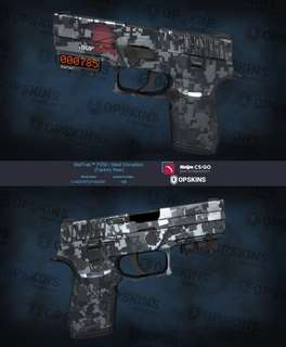CSGO P250 STEEL DISRUPTION