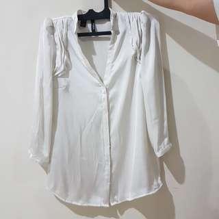 Mango Suit blouse