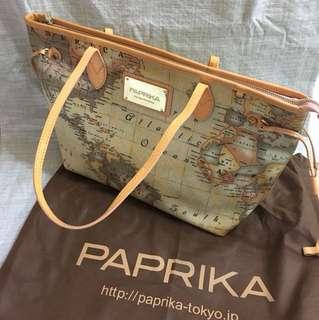 正版 PAPRIKA 地圖圖案手袋