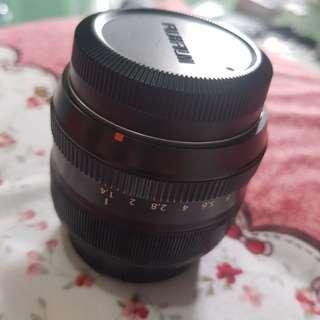 Fujifilm fujinon 35mm f1.4