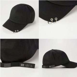 BTS WINGS TOUR BLACK CAP, KOREAN TREND UNISEX CAP (READY STOCK)