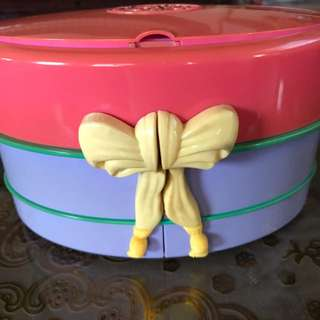 Polly pocket hatbox 1995