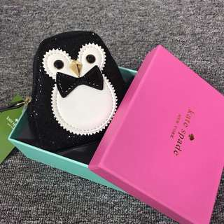 RESTOCK! Authentic Kate Spade Penguin Coin Pouch