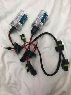HID H11 4300K headlight bulbs only