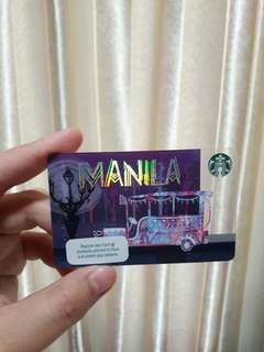 Starbucks Manila City Card