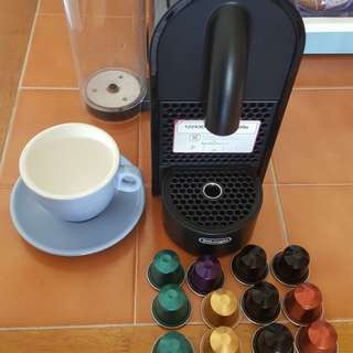Nespresso coffee machine free capsule