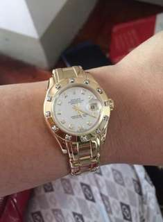 Rolex Pearl Master Solid Gold