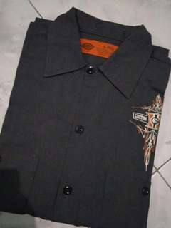workshirt dickies x cumtom crome (rare)