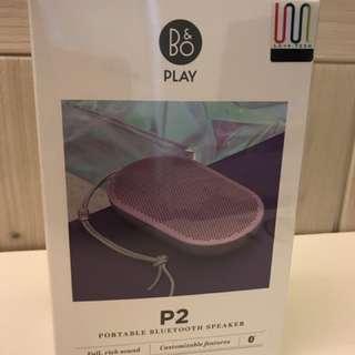 全新!B&O PLAY P2 粉紅色藍芽speaker
