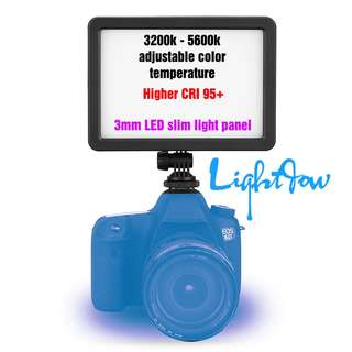💯 Lightdow PC - K128C 128 LED Video Light Dimmable Ultra High Power Panel