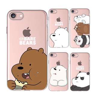 [WE BARE BEARS] iPhone Clear Case