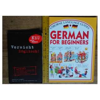 German Deutsch Books RARE