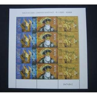 澳門1998-華士古達嘉馬-航海的路線-小板張